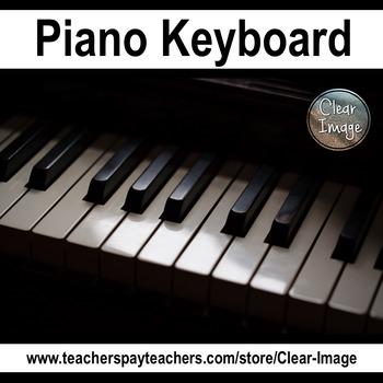 Piano keyboard Stock Photo -for personal and commercial use
