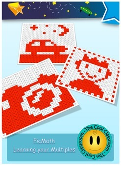 PicMaths : US Version- Times table activities - working wi
