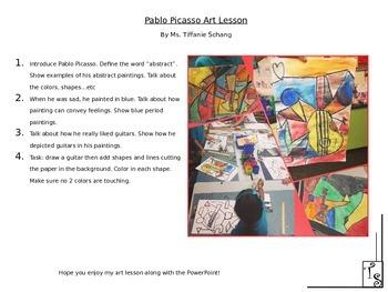 Picasso Art Lesson