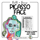 Art Lesson: Picasso Face Roll & Draw Pages