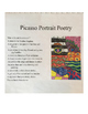 Picasso Portrait Poetry