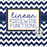 FUNCTIONS - Piecewise Linear Functions