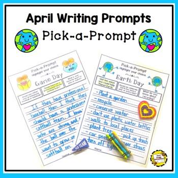 Pick-a-Prompt (April Writing Prompts)