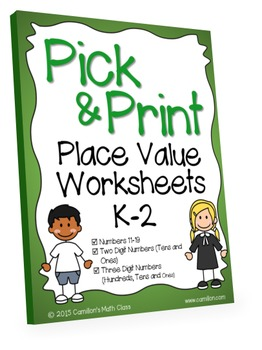 Place Value Worksheets (Place Value Activities, Hundreds T