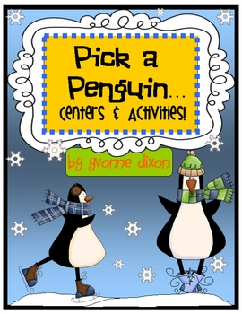 Pick a Penguin Centers and Activities