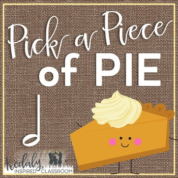 Pick a Piece of Pie Rhythm Game: half note