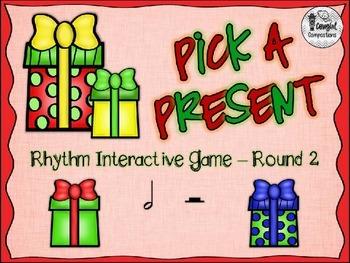 Pick a Present - Round 2 (Half Note/Half Rest)