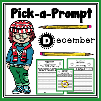 Pick-a-Prompt (December Writing Prompts)