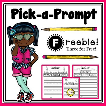 Pick-a-Prompt (Freebie Writing Prompts)