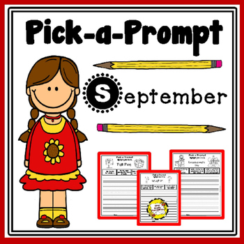 Pick-a-Prompt (September Writing Prompts)