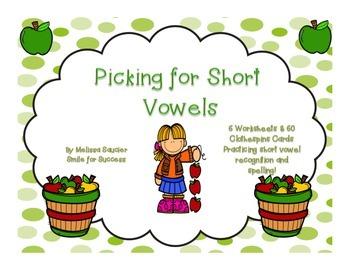 Pick the Short Vowels!