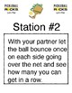 Pickle Ball Stations