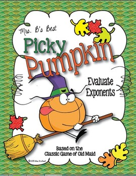 Picky Pumpkin Card Game: Evaluating Exponents