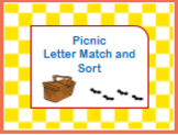 Picnic Letter Match and Sort