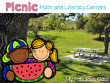 Picnic Math and Literacy centers