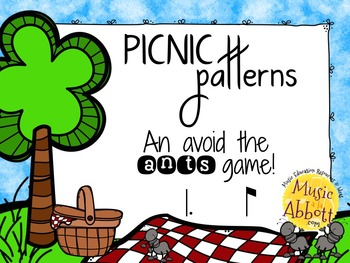 Picnic Patterns for Rhythm Practice {tam-ti}