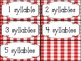 Picnic Time- Counting Syllables