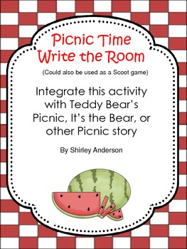 Picnic Time- Write the Room