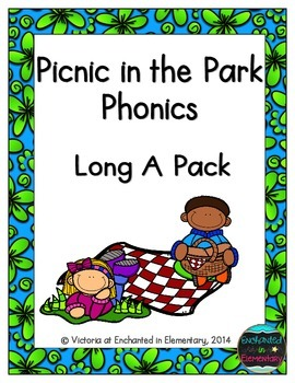 Picnic in the Park Phonics: Long A Pack