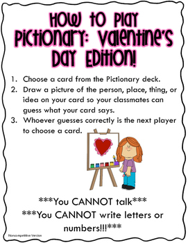 Pictionary: Valentine's Day Edition!