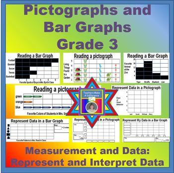 Pictographs and Bar Graphs - Grade 3
