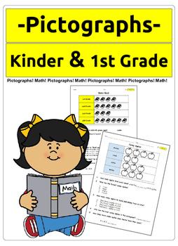 Pictographs (kinder & 1st grade)