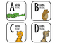 Book Bin Labels for Guided Reading {Picture Alphabet}