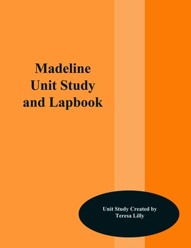 Madeline Unit Study and Lapbook