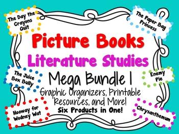 Picture Books Literature Studies Mega Bundle 1