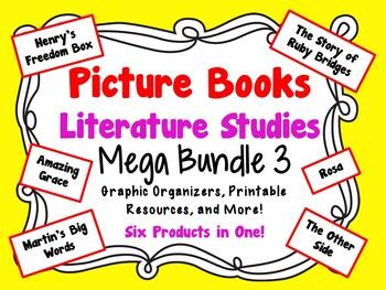 Picture Books Literature Studies Mega Bundle 3
