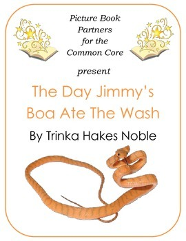 Picture Books for the Common Core:  The Day Jimmy's Boa At