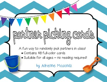 Picture Cards for Picking Partners