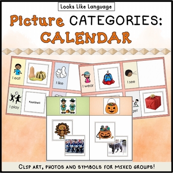 Category Sorting Activities 3: Picture and Word Cards, Sor