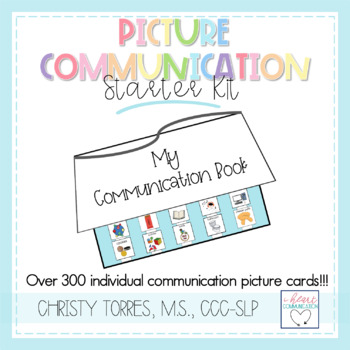 AAC Picture Communication Starter Kit for the Autism Classroom