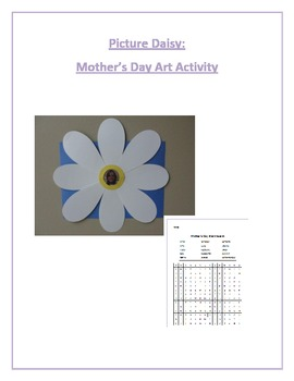 Picture Daisy: Mother's Day Art Activity