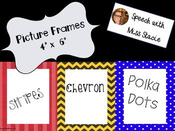 """Back to School Picture Frames 4""""x6"""""""