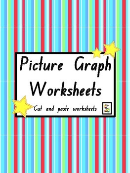 Picture Graph Worksheets - Cut and Paste Printables!