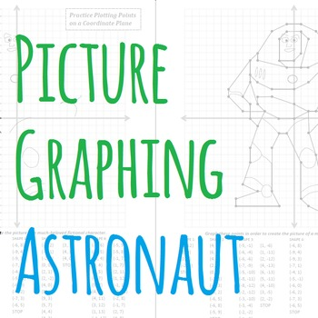 Picture Graphing (Astronaut): Plotting Points on a Coordin
