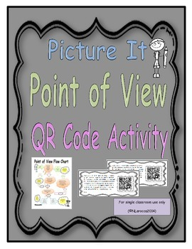 Picture It! Point of View QR Code Activity
