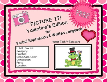 Picture It! for Verbal Expression & Written Language - Val
