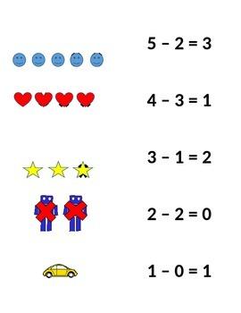 Picture Match Subtraction