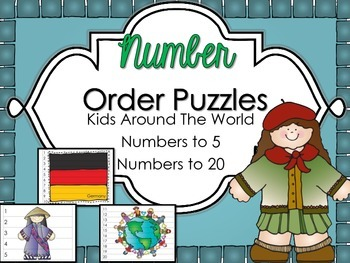 Number Puzzles {1-20 Kids Around The World}