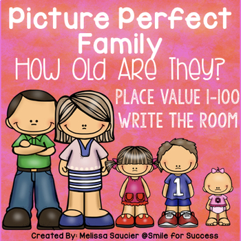 Picture Perfect Family {Place Value Write the Room}