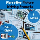Picture Prompt Writing Task Cards: Narritive