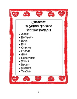 Picture Prompts: School Theme-Aligning Text Types to Core