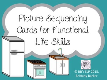 Picture Sequencing Cards for Functional Life Skills