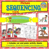 Picture Sequencing Cards with Cut and Paste Sheets