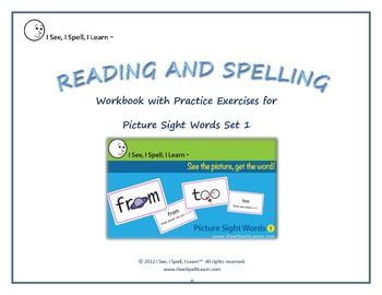 Picture Sight Words Work Book - I See, I Spell, I Learn