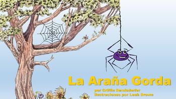Picture Story Illustrations for La Arana Gorda--a Spanish
