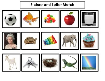 Picture and Beginning Sound Match